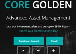 Coregolden.com — какие отзывы, платит или лохотрон?