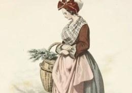 Какую одежду носили простые горожанки в Западной Европе XVII века?