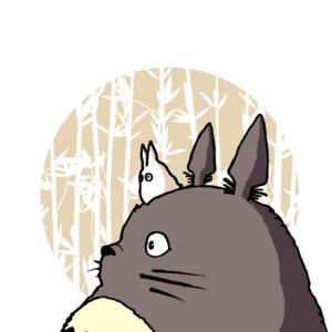 Как зовут кота, похожего на кролика, героя аниме-фильма Хаяо Миядзаки?