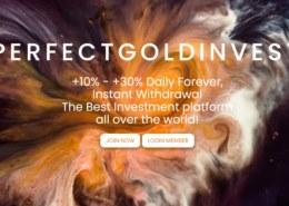 Perfectgoldinvest.com — какие отзывы, платит или лохотрон?