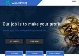 Wagerprofit.biz — какие отзывы, платит или лохотрон?