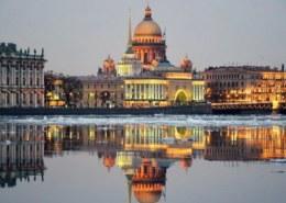Какая численность населения в Санкт-Петербурге на 2021 год?