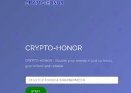 Crypto-honor.ltd — платит или нет, какие отзывы?
