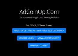 Adcoinup.com — какие отзывы, платит или лохотрон?