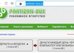 Партизан-Букс, partizan-bux.ru что за компания, можно заработать?