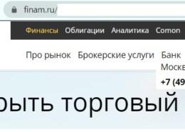 Брокер ФИНАМ, www.finam.ru надежен, какие отзывы?