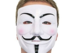 Почему маска «Анонимус» вдруг стала такой популярной?